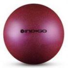 Мяч металлик IN118 19 см Indigo для художественной гимнастики фиолетовый