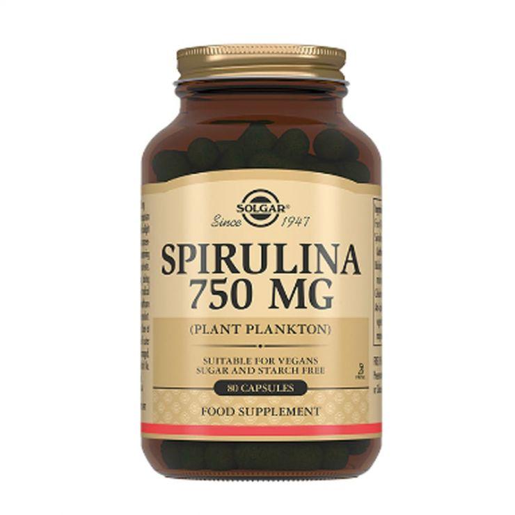Солгар Таблетки Спирулина 750 мг