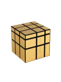 Кубик Рубика (зеркальный золотой)