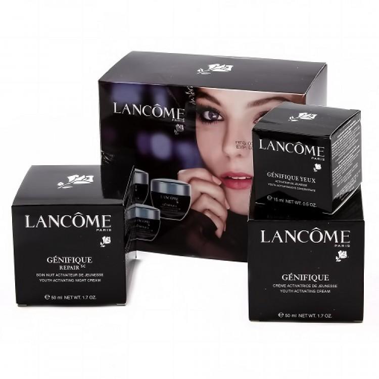 Антивозрастной набор кремов Lancome Genifique 3в1