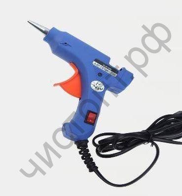 Пистолет для термоклея малый X-PERT HJ0120 20W с выключателем, на блистере