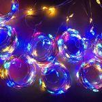 Огонек OG-LDG11 гирлянда-штора LED (3х1м,100 ламп,RGB)