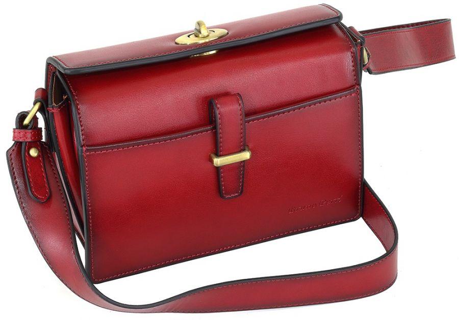Кожаная женская сумка-клатч Bruno Perri L14559/4