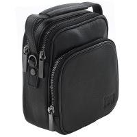 Кожаная мужская сумка Bruno Perri 9346-14/1 чёрная