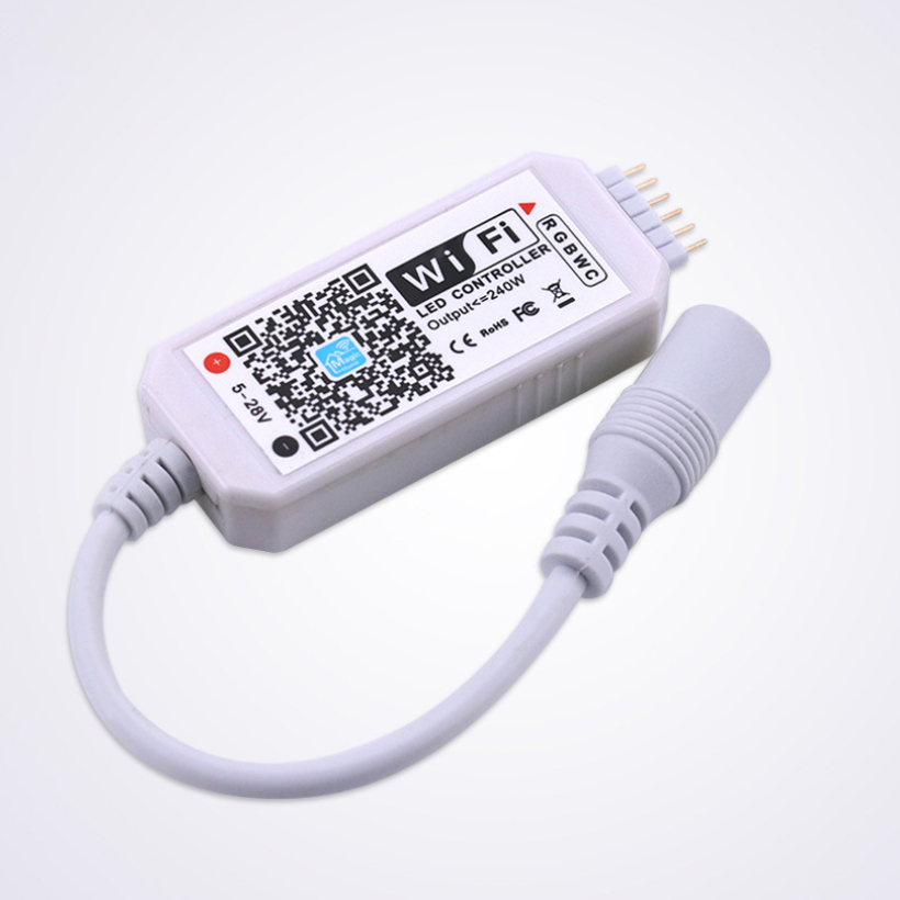 Огонек OG-LDL24 LED контроллерр (Wi-Fi, RGBWW)