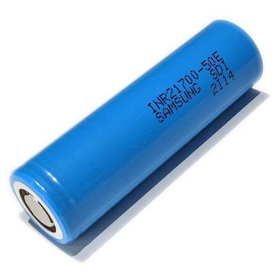 Аккумулятор Samsung INR21700-50E 21700 5000мАч без защиты, до 15A