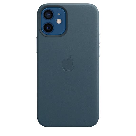 Чехол iPhone 12 Apple MagSafe Leather Case