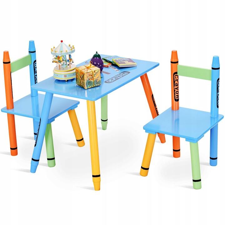 Стол+2 стула для детей