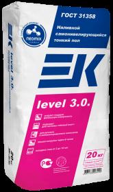 Наливной пол ЕК Level 3.0 (20кг) финишный