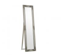 Аренда зеркала в серебрянном багете с подставкой 160х40
