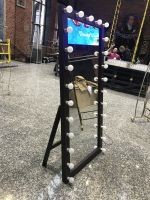 Аренда гримерного зеркала LOFT с лампочками 160х80