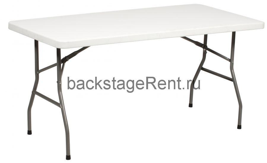 Аренда прямоугольного стола 180х75 серого