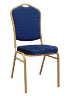 Аренда банкетного стула синего