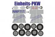Окрасочная маска для моделей на базе Einheits Personenkraftwagen производства ICM (35581, 35582, 355