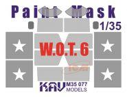 Окрасочная маска на остекление W.O.T. 6 (ICM 35507)