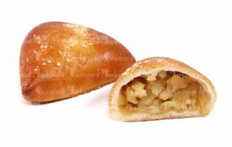 Коктейльный пирожок с яблоком