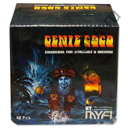 Уголь кокосовый для кальяна Mya Genie Coco 48