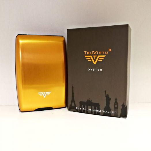 Кошелек TRU VIRTU Oyster, золотистого цвета, 14.10.1.0001.03