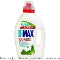 BiMax 100 пятен.Гель для стирки 1,3л, шт