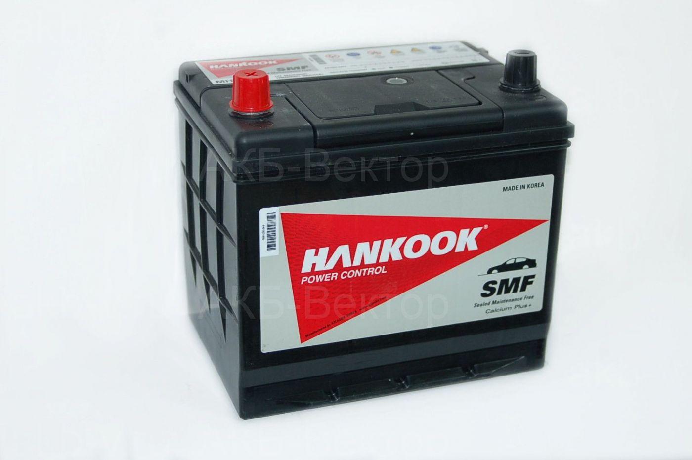 Hankook 68Ач 600А(CCA) 2018г