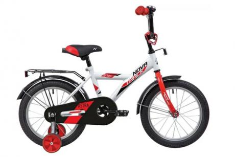 """Велосипед NOVATRACK 14"""" ASTRA белый"""