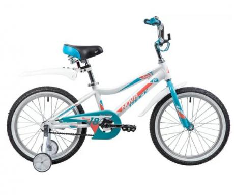 """Велосипед NOVATRACK 18"""", NOVARA, алюм., белый"""