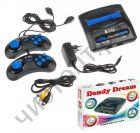 Игровая приставка Dendy Dream 300 в 1 (9р) (конс.с 300 встр.играми. ,2джой., бл.пит.,каб.TV) Денди