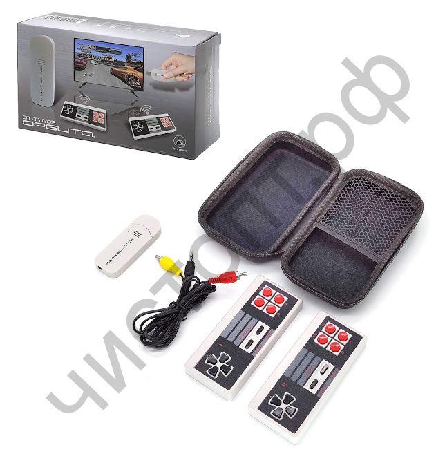 Игровая приставка OT-TYG05 620 игр ,2 беспровод. джой. ,пит. USB ,футляр