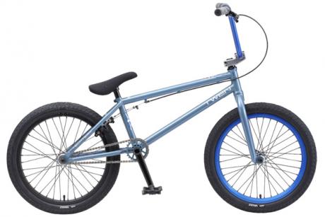 """Велосипед TechTeam Twen 20"""" синий 2020 Cr-Mo хром-молибден"""