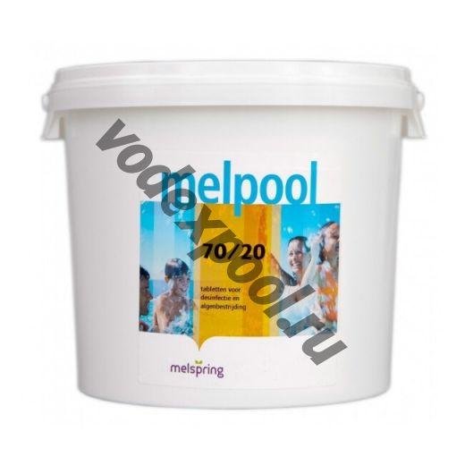 Melpool 70/G 1 кг. в гранулах на основе гипохлорита кальция