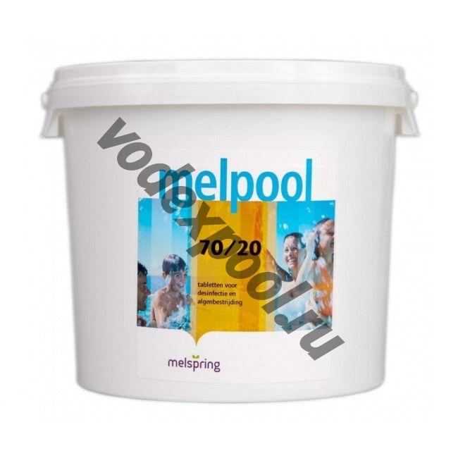 Melpool 70/G 5 кг. в гранулах на основе гипохлорита кальция