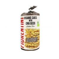 Кукурузные хлебцы с семенами чиа, обогащенные омега-3 без глютена БИО 120 г, Fiorentini