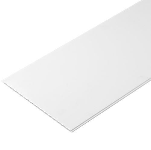 Пластиковый реечный потолок белый матовый