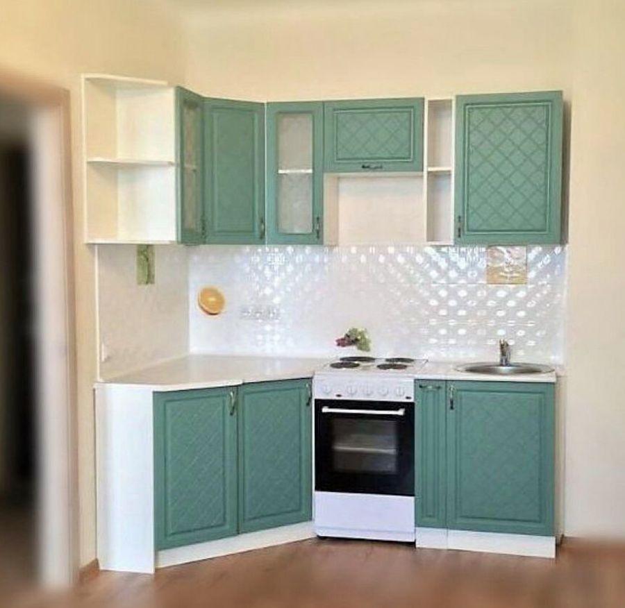 Кухня угловая Айвори (Модена) 2,05x1.2 м (модульная)