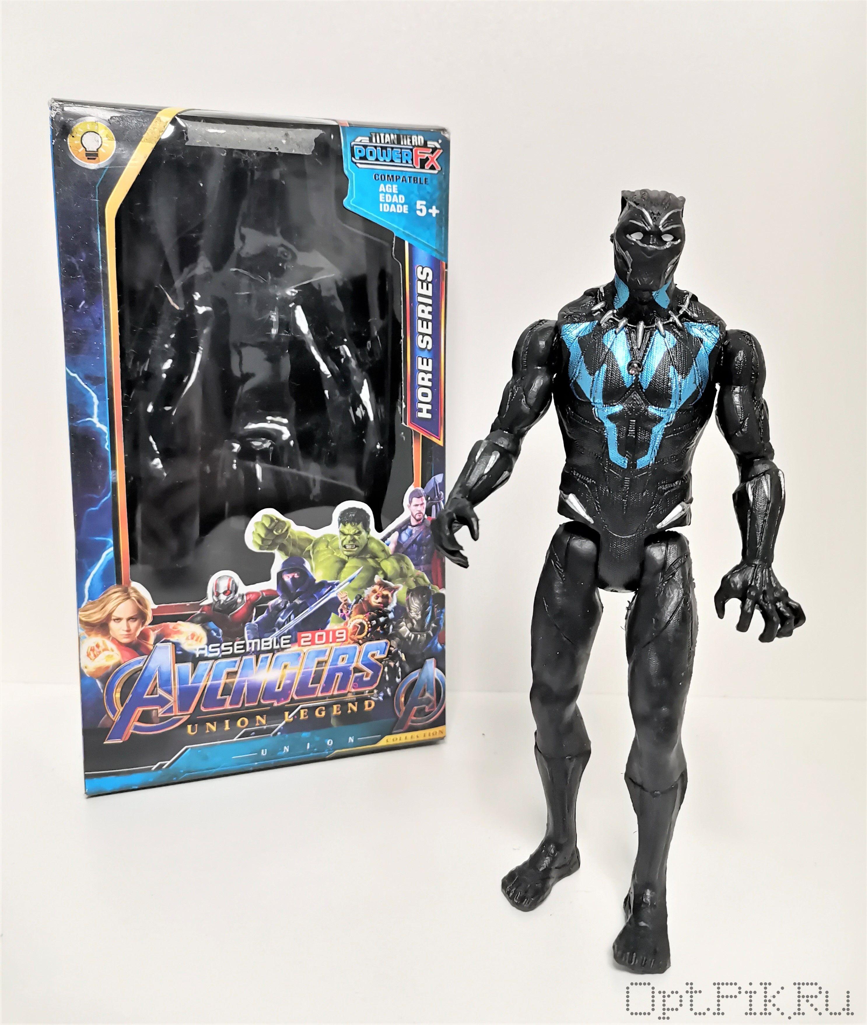Фигурка Мстители Чёрная Пантера 15 см