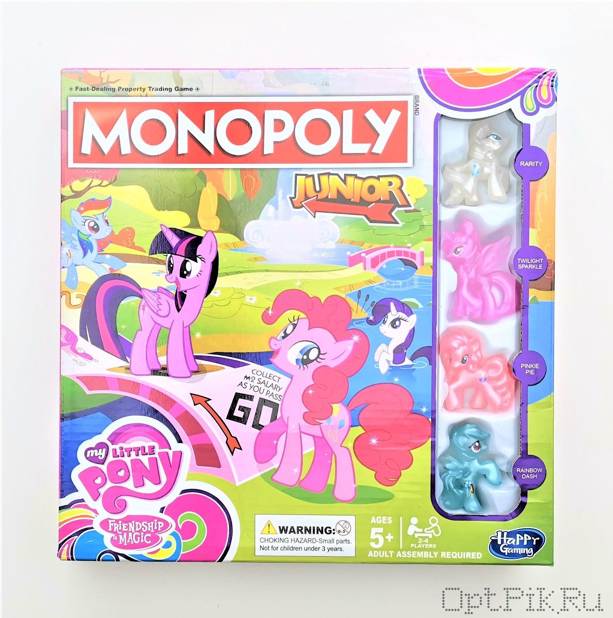 Монополия My Little Pony английская