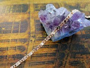 Позолоченный браслет с имитацией алмазной гравировки, 3 мм (арт. 2502721)