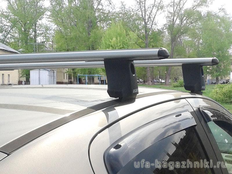 Багажник на крышу Peugeot 308, Атлант, аэродинамические дуги