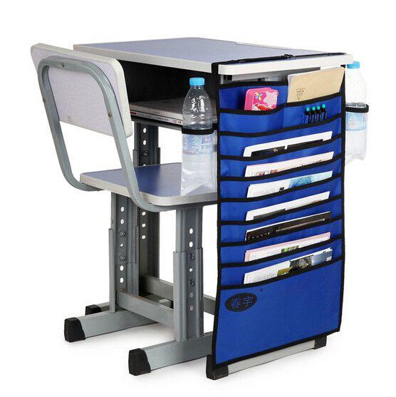 Подвесной органайзер для документов, синий