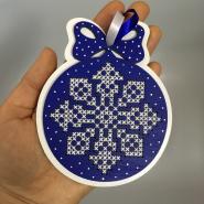Сувенир, украшение на елку, оригинальная новогодняя игрушка.