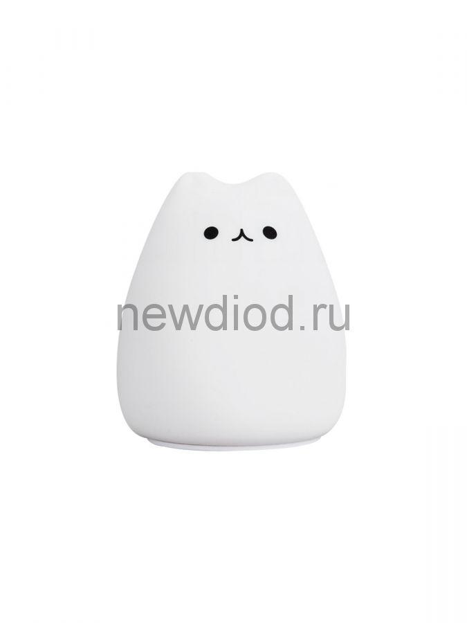 Светодиодный светильник - ночник LITTLE CAT 0.8W 7COLORS-3хAAA-IP20