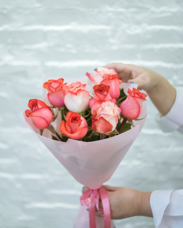"""Букет цветов """"9 роз"""""""