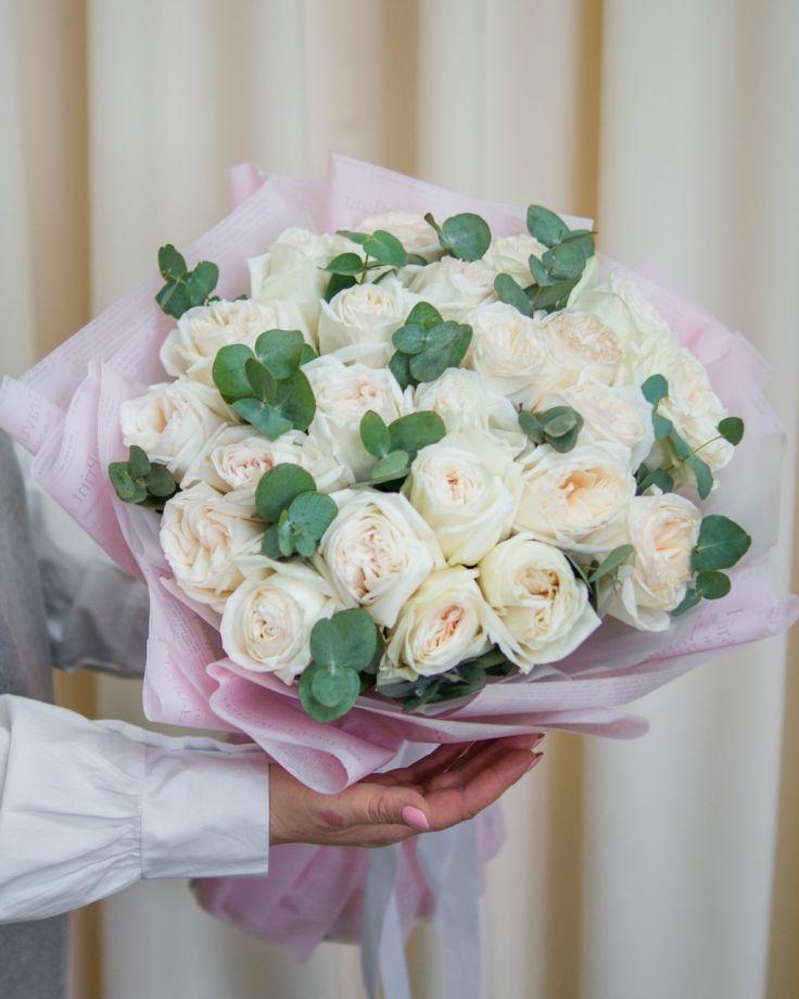 """Букет цветов из 25 роз """"Амели"""""""