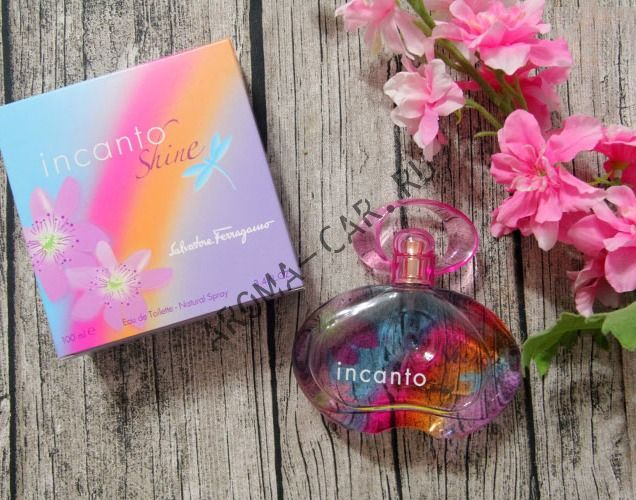 Парфюмерное масло Salvatore Ferragamo - Incanto Shine 100 мл