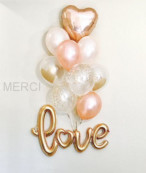 Набор шаров Love