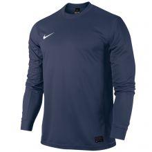 Детская тёмно-синяя игровая футболка Nike Park V Long Sleeve Jersey