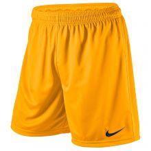Детские шорты Nike Park Knit Short жёлтые