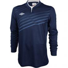 Тёмно-синяя футболка Umbro Graphic Jersey LS