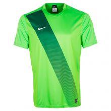 Футболка Nike Sash игровая салатовая