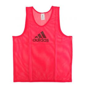 Футбольная манишка adidas Training Bib 14 розовая